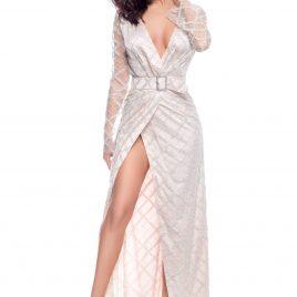 Glamy long glitter dress