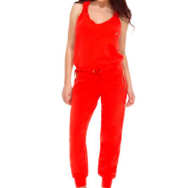 Glamy jumpsuit orange