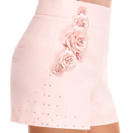 Glamy short pants rose