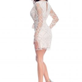 Glamy short glitter dress